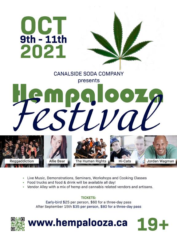 Hempalooza poster